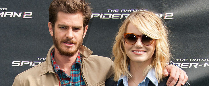 Andrew Garfield and Emma Stone Get Supercute