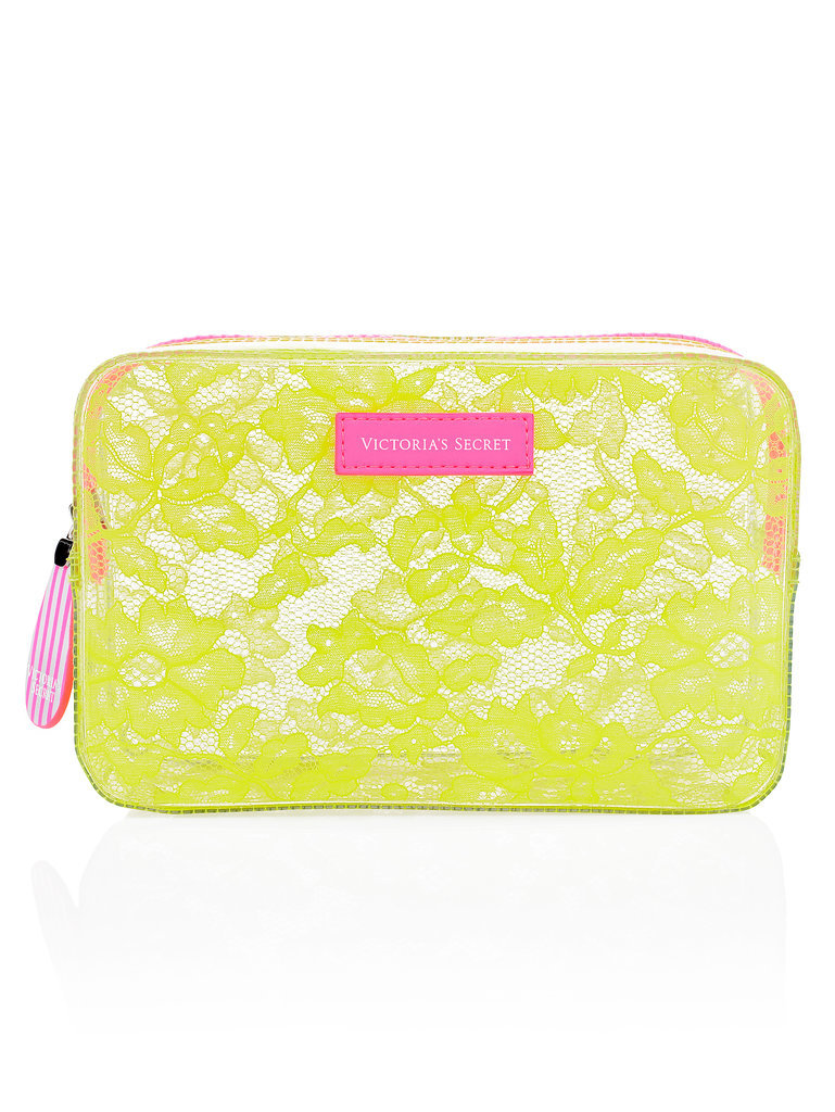 Victoria's Secret Jelly Lace Travel Bag