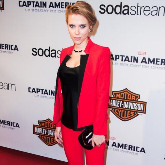 Scarlett Johansson's Pregnancy Style Pictures