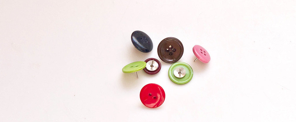This DIY Thumbtack Is as Cute as a Button