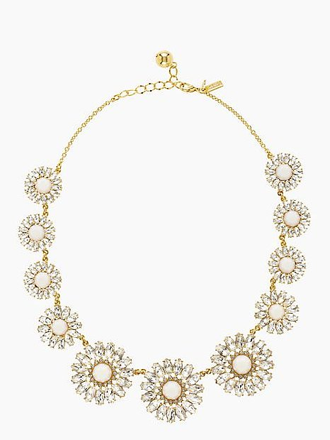 Kate Spade New York Estate Garden Rhinestone Necklace ($99, originally $198)