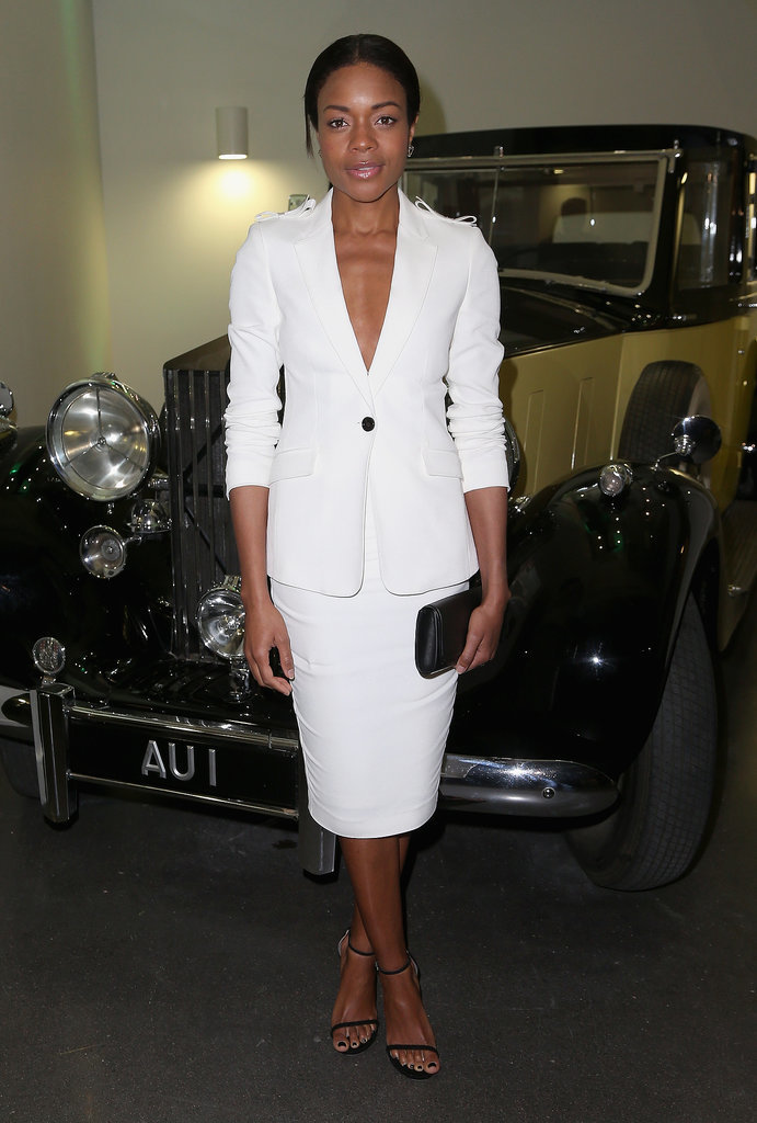 Naomie Harris went to the Bond in Motion exhibition at the London Film Museum on Tuesday.