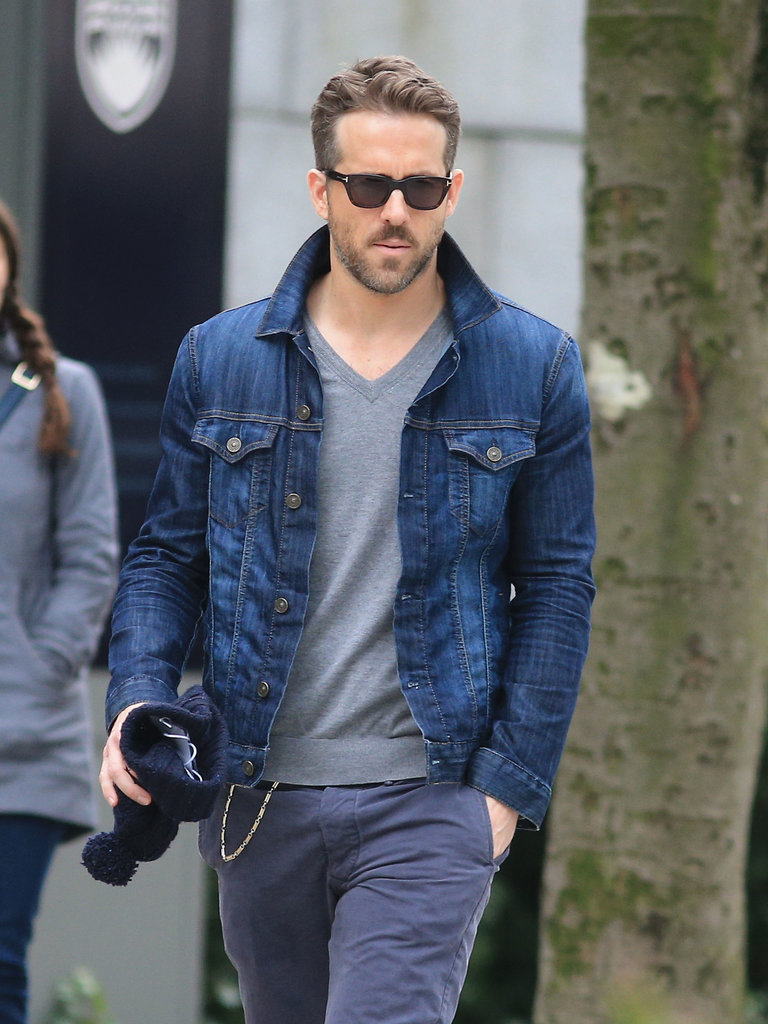 On Tuesday, Ryan Reynolds paid a visit to the set of The Age of Adaline in Vancouver, where his wife, Blake Lively, has been filming her latest project.