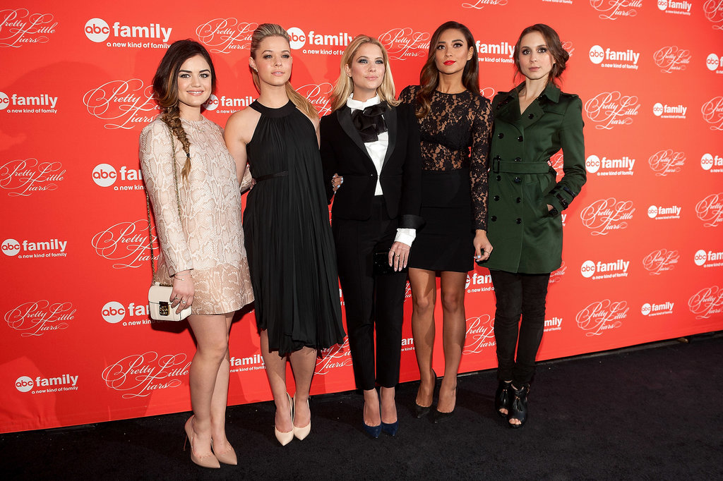 The Pretty Little Liars cast attended a party in NYC for the season finale on Tuesday.