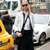 How to Wear White Leather
