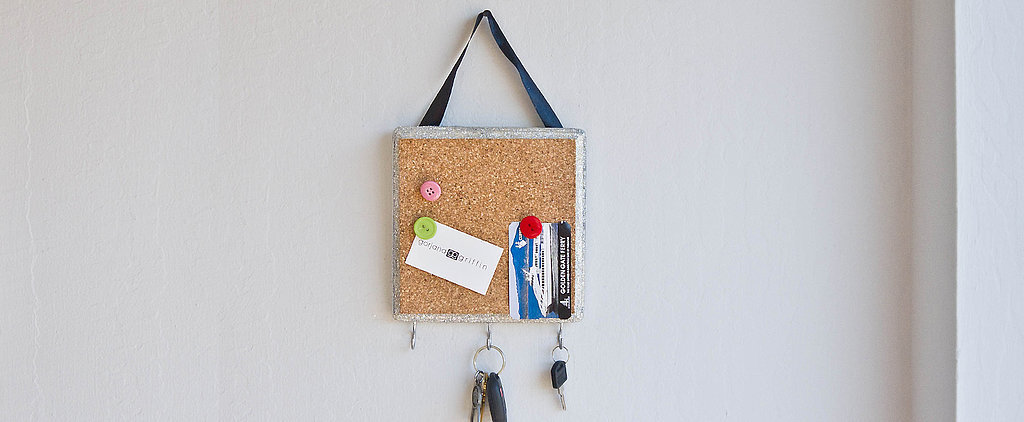 Keep Everything Organized in 1 Spot With This Sparkly DIY