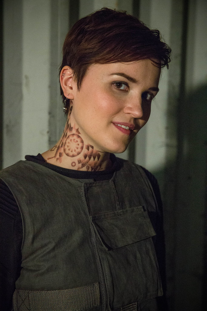 Author Veronica Roth makes a cameo.
