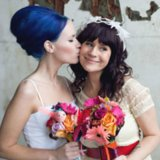 Edgy and Bohemian Wedding Hairstyles For the Indie-Beauty Bride