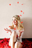 A Rose-Worthy Boudoir Shoot With Bachelor Winner Nikki Ferrell