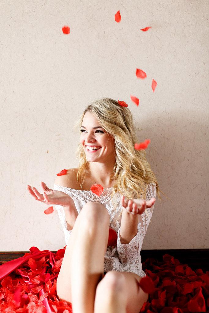A Rose-Worthy Boudoir Shoot With Bachelor Winner Nikki Ferrell