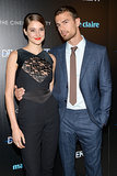 Shailene Woodley and Theo James Share a Sweet Moment