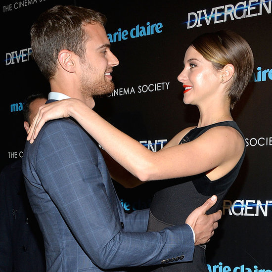 Shailene Woodley And Theo James, Divergent New York Premiere