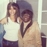 Rihanna celebrated her late grandmother's birthday with this throwback photo. Source: Instagram user badgalriri