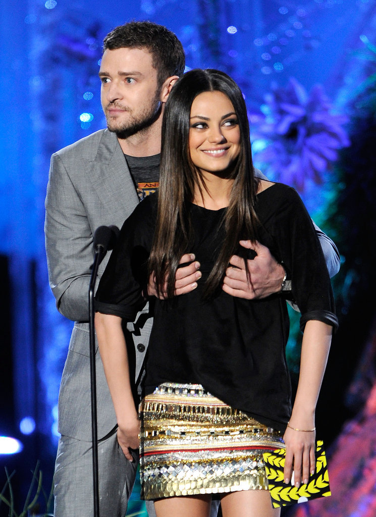 When this grabby moment happened at the 2011 MTV Movie Awards.