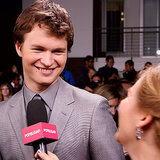 Ansel Elgort Interview at Divergent Premiere | Video
