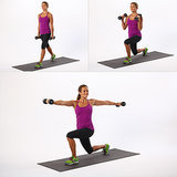 Split Lunge With Twist