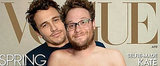 James Franco and Seth Rogen Do Their Best Kim and Kanye For Vogue