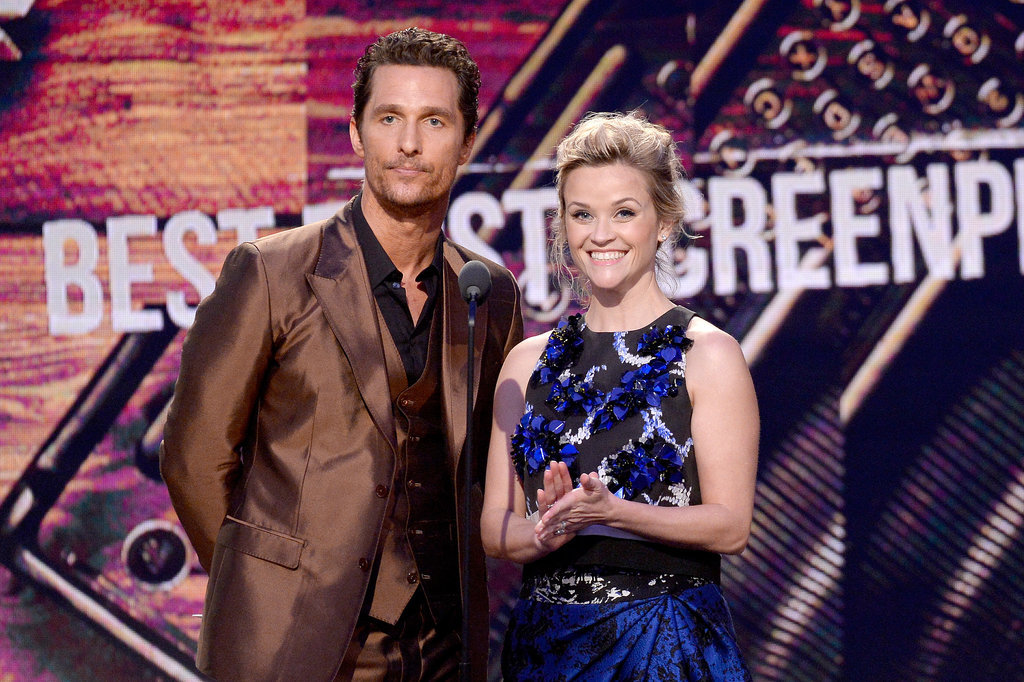She was beaming while presenting an award with her Mud costar Matthew McConaughey at the Independent Spirit Award in March 2014.