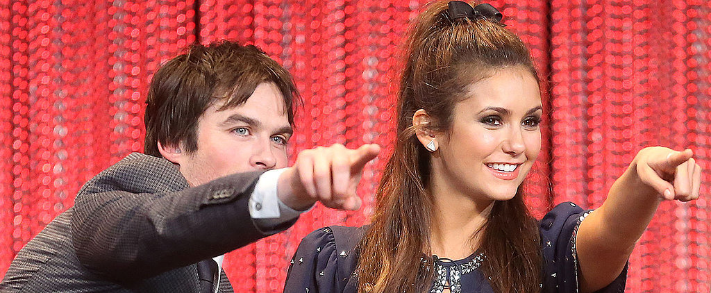 Let's Talk About Ian Somerhalder's Sweet Interactions With Nina Dobrev