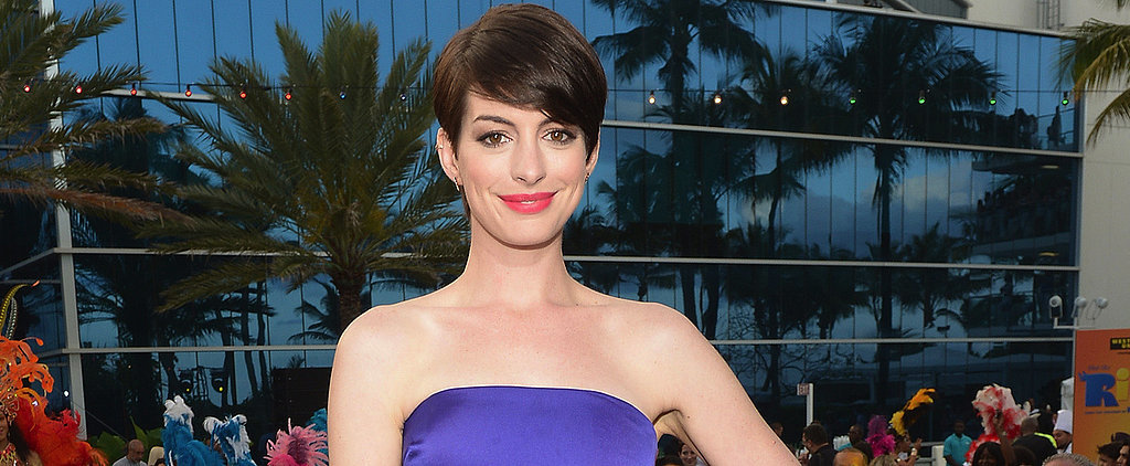 Steal Anne Hathaway's Spring Break Style on Today's POPSUGAR Live!