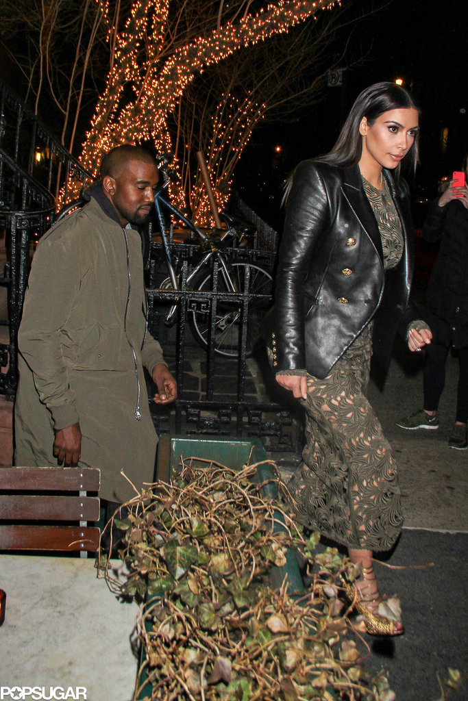 Kim and Kanye's Dinner Date? Anna Wintour, Obviously