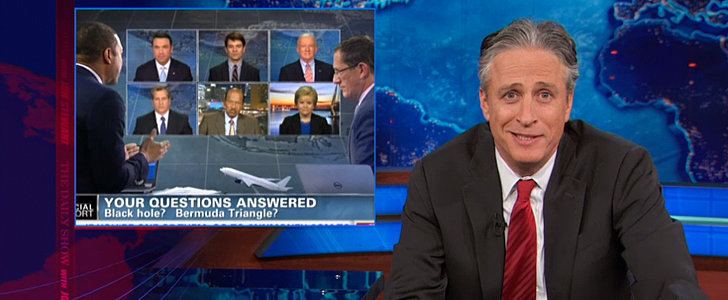 Jon Stewart Is Baffled by the Flight 370 Coverage
