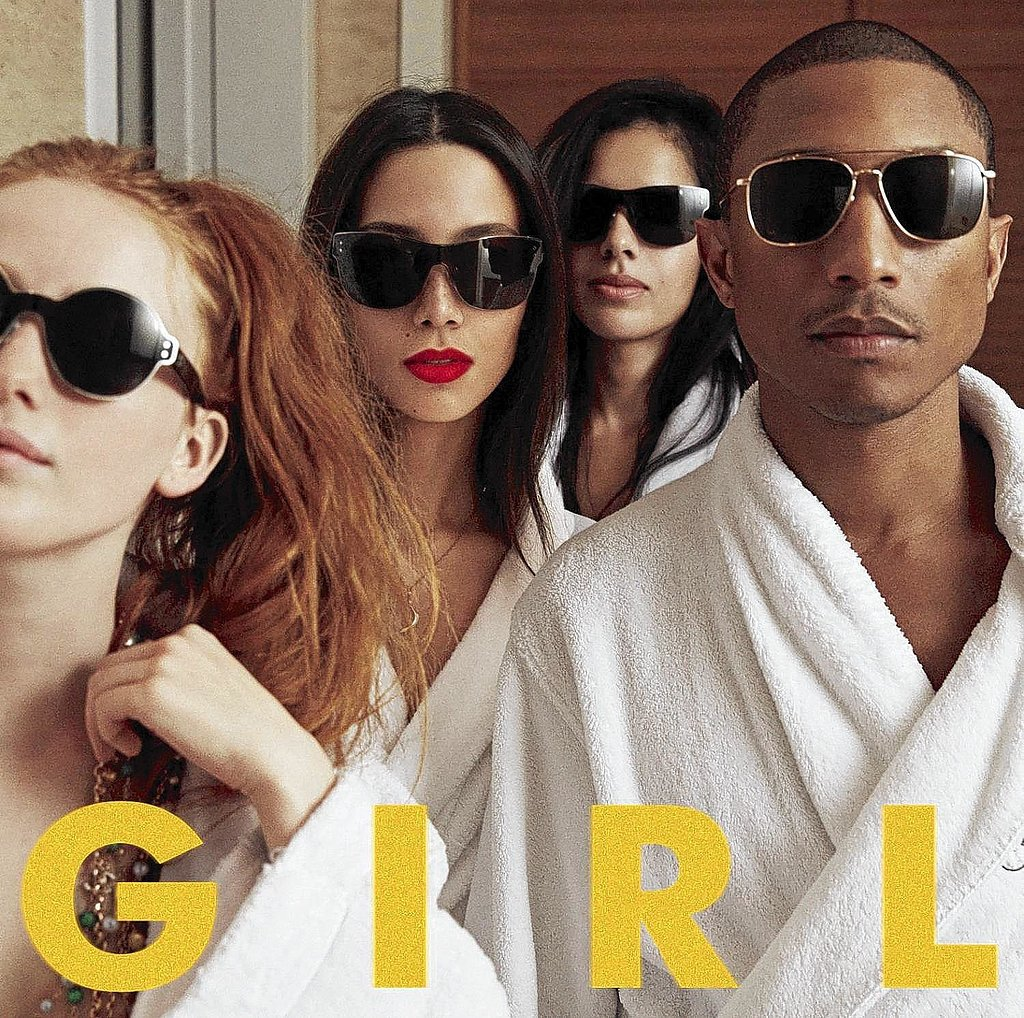 "On the criticism he received for his G I R L album cover: ""It's insecurity. You can be anything that you want to be, and what I chose to do is put my friends on the cover. The girl that was closest next to me is black, but they didn't know that, so they jumped the gun. It doesn't make sense to me. That kind of divisiveness is not necessary at a time when we're supposed to be unifying."" On empowerment: ""You don't need nobody to represent you. You represent you. You represent the best version of who you could be. You go out there and change the world."" On being black: ""I wouldn't trade my skin color for nothing. But I don't need to keep wearing a badge that tells you that I'm black every time I do something! I'm black! Black ain't a color: black is a spirit, and it is ubiquitous. In fact, there's more black out in space than there is stars. We have nothing to be insecure about.""  Source: Columbia Records"