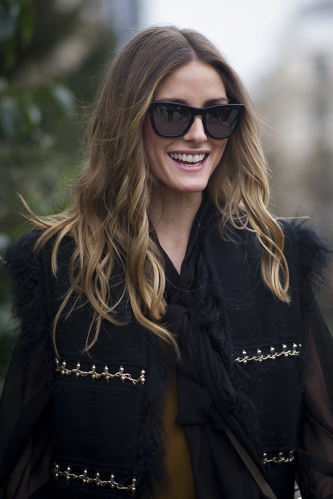 Olivia Palermo's Long Layers