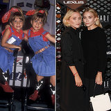 Mary-Kate and Ashley's matching style has changed a lot in two decades.