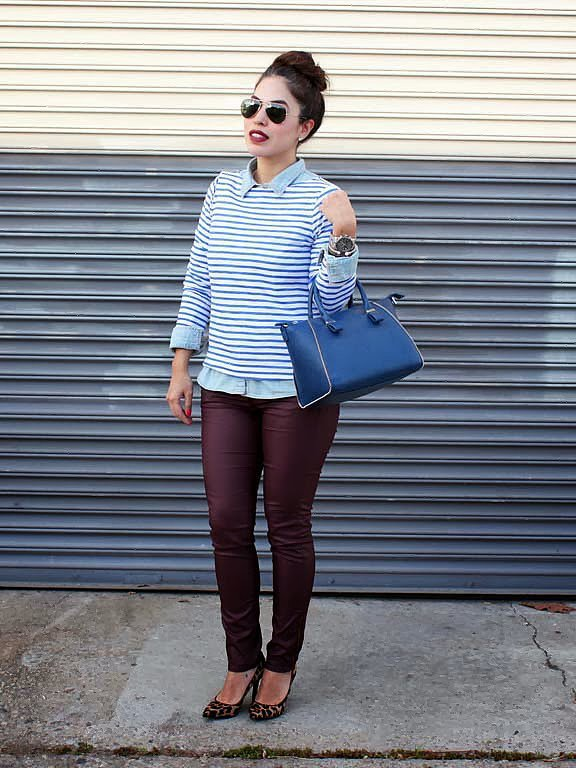 Congrats, MayraEmily! You prove why a striped shirt is a closet staple.