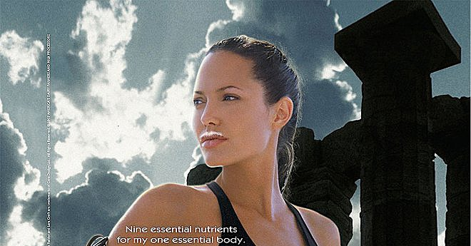 Angelina Jolie channeled Lara Croft, rocking a black bikini with her | The Most '90s-tastic Got ... Angelina Jolie