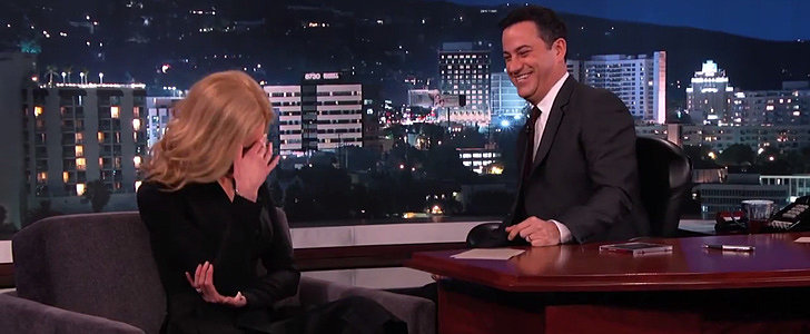 Here's How to Make Nicole Kidman Turn Beet Red in 15 Seconds
