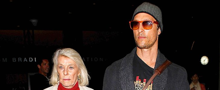 Matthew McConaughey Is Still a Good Ol' Mama's Boy