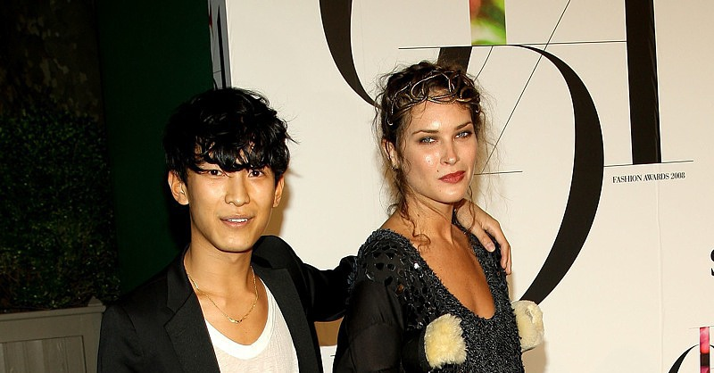 June 2008: CFDA Vogue Fashion Fund Awards with Erin Wasson
