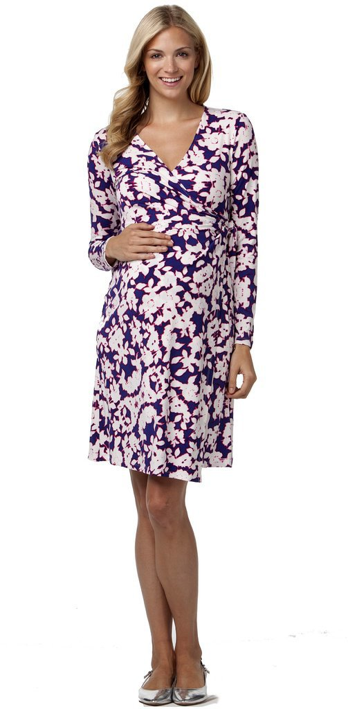 Rosie Pope Maternity Wrap Dress Classic