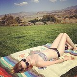 Emma Roberts laid out in the sun. Source: Instagram user emmaroberts6