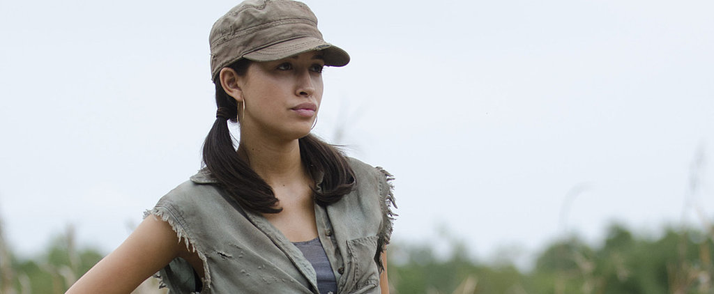 "The Walking Dead's Christian Serratos on the ""Twisted"" Season Finale"