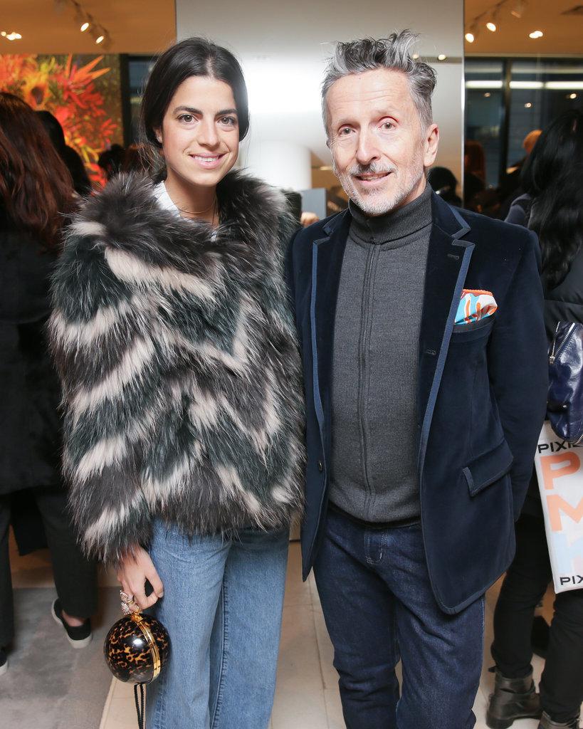 Leandra Medine and Simon Doonan