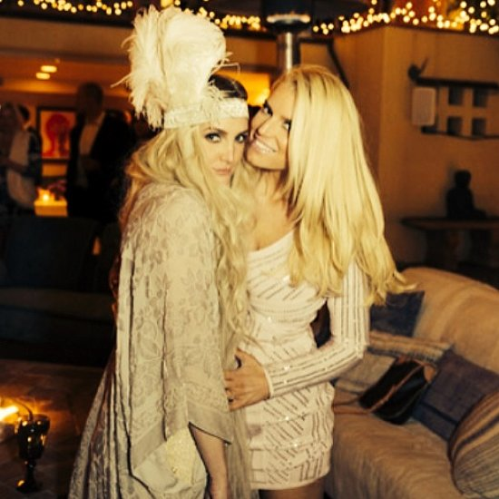 Ashlee Simpson and Evan Ross Engagement Party Pictures