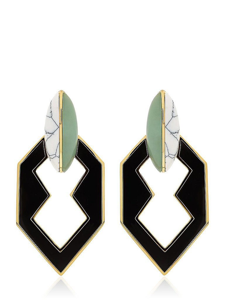 Eddie Borgo Peaked Link Earrings