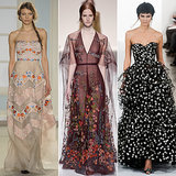 The Prettiest Dresses and Gowns From Fashion Week AW 2014