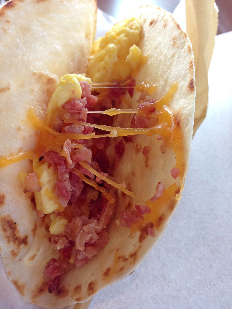 AM Grilled Bacon Taco