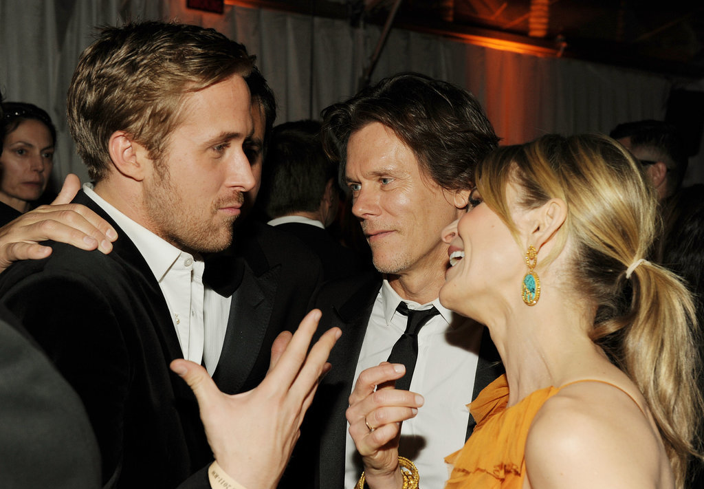 He likes to use his hands to talk — especially with Kevin Bacon.