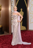 Lady Gaga in Atelier Versace at 2014 Oscars
