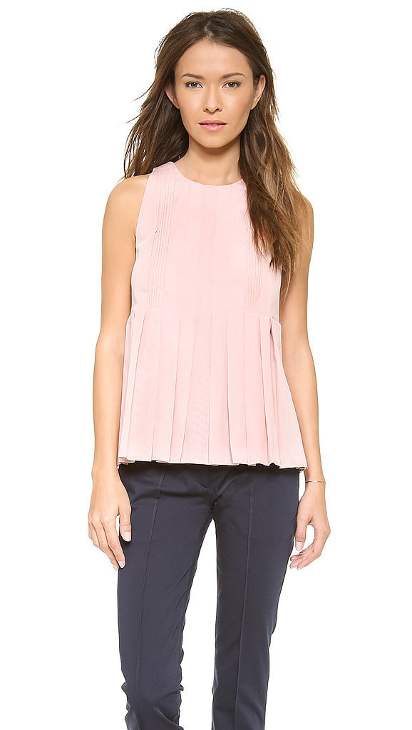 Victoria Beckham Pleated Top