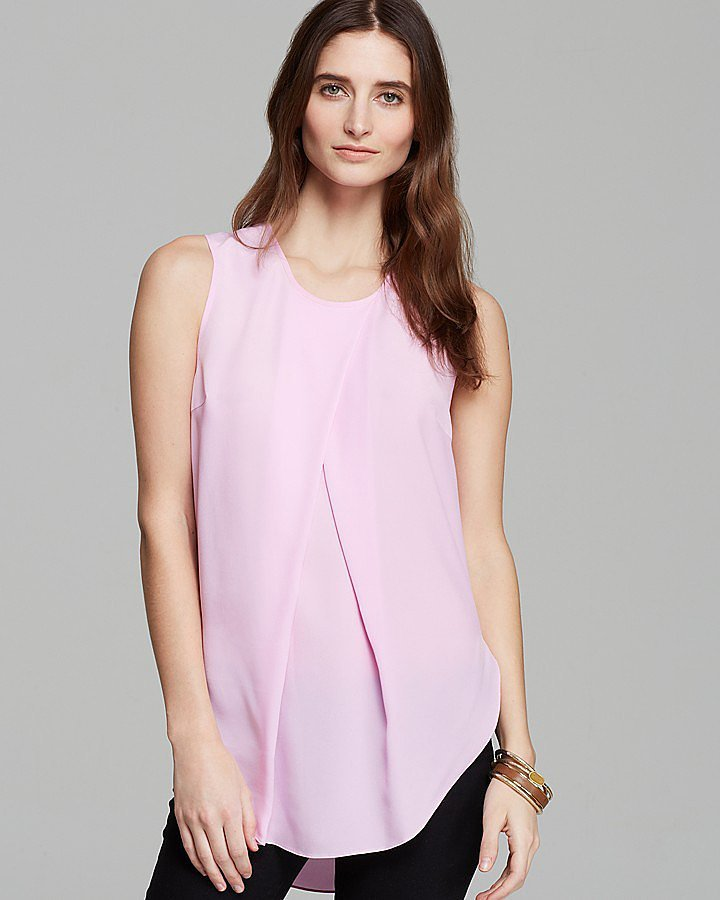 DKNY Pleated Blouse