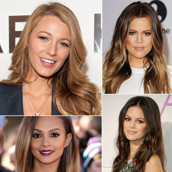 Celebrities With Long Hairstyles For Spring 2014 | Pictures
