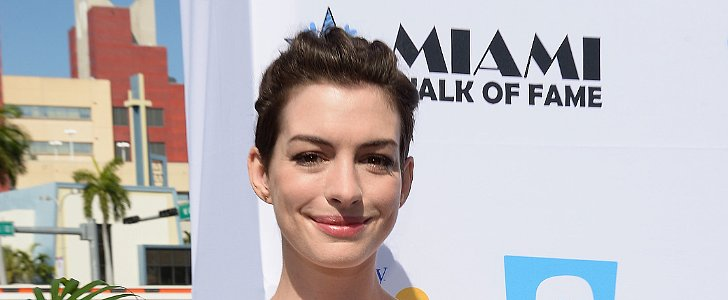 Anne Hathaway Rocked Two Hairstyles in 24 Hours