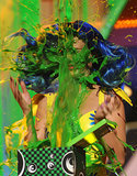 Katy Perry got a blast of slime in 2010.