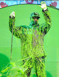 Snoop Dogg couldn't handle the slime in 2011.